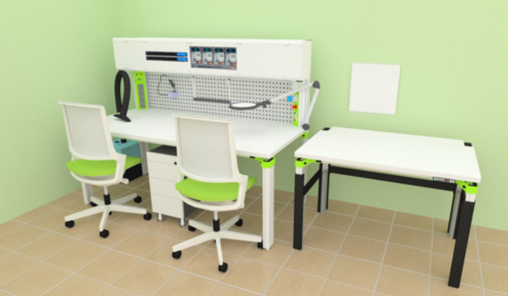 Assembly Workstation & Workbench - Relays and battery testing