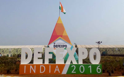Messung Erfi in DefExpo exhibition