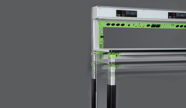 Electronic Workbench & Workstation - Height Adjustment System