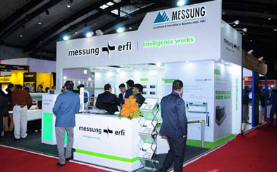 Messung Erfi in India Electronics Week exhibition