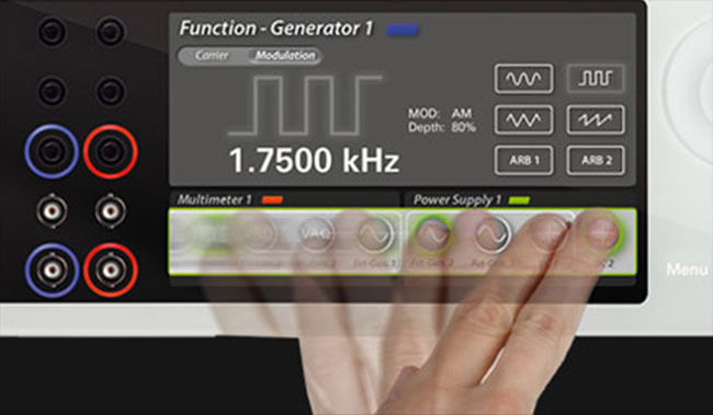 Programmable Power Supply - Multi-touch Glass Display