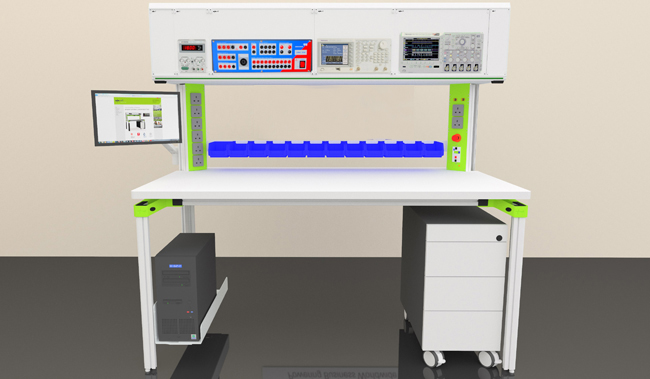 R&D D&D Workbench & Customized Workstation - Power Units and Electrical Systems