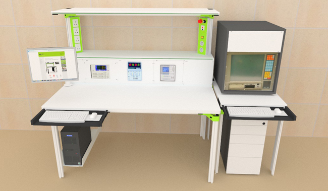 Ergonomic Worktable & Customized ESD table - Defence Optical Instruments