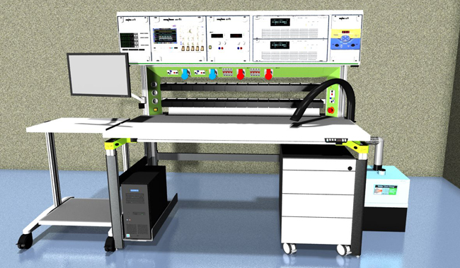 Anti static workbench for Rework of UPS, inverters, power instruments